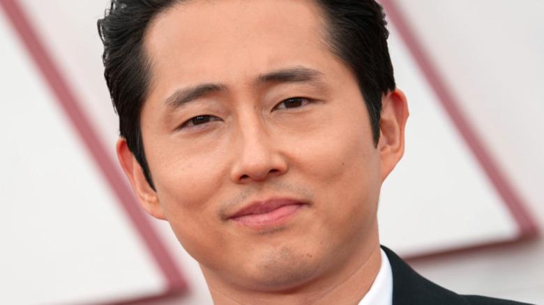Steven Yeun red carpet