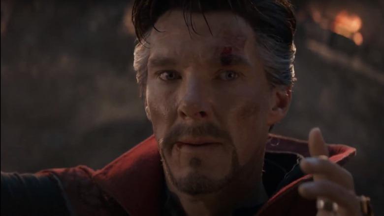 Benedict Cumberbatch as Doctor Strange in Avengers Endgame