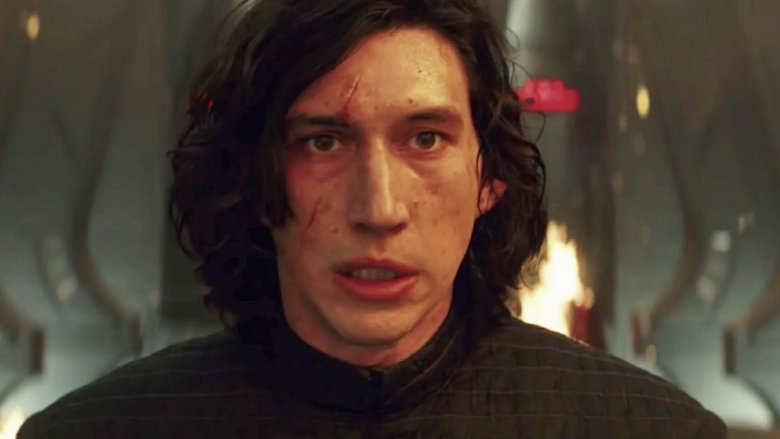 Adam Driver as Kylo Ren Star Wars
