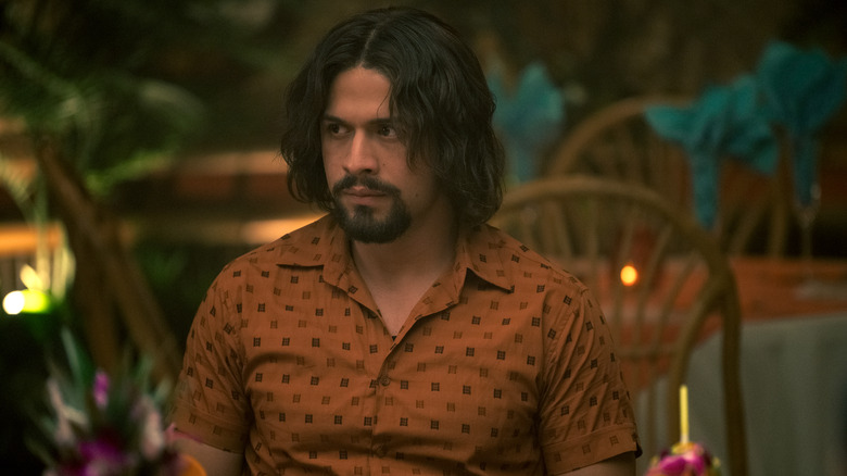 David Castañeda as Diego in The Umbrella Academy