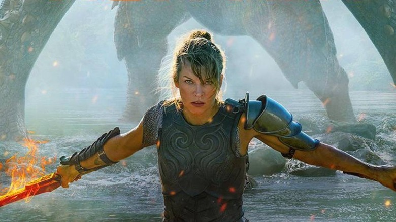 Milla Jovovich and Tony Jaa star in the upcoming Monster Hunter movie