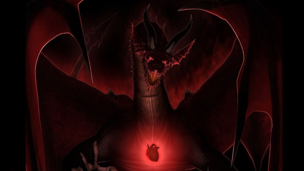 Dragon in Netflix's Dragon's Dogma