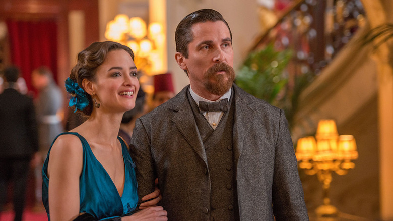 Charlotte Le Bon and Christian Bale in The Promise