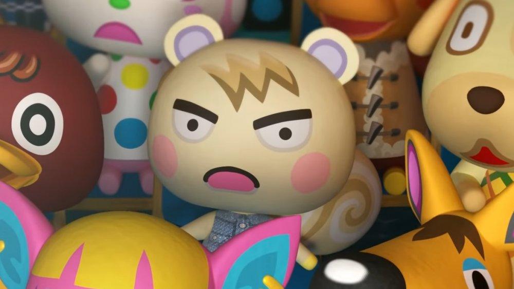 Animal Crossing villagers look shocked