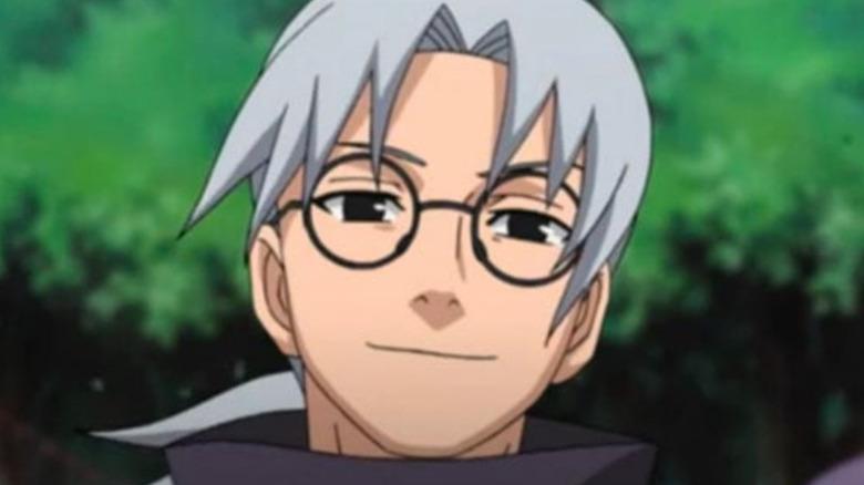 Naruto Kabuto smiling