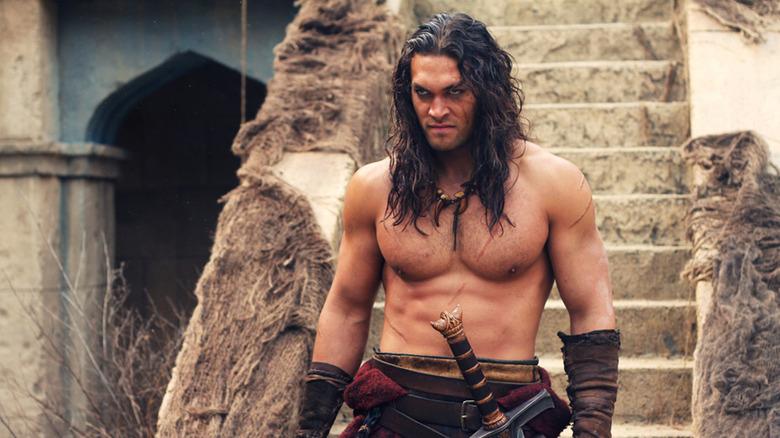 Scene from Conan the Barbarian
