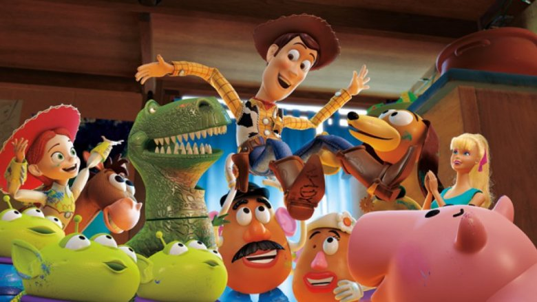 The toys in Toy Story 3