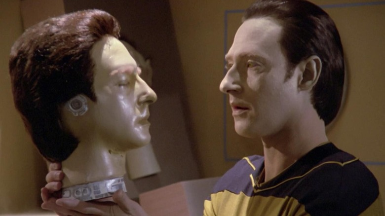 Brent Spiner in Star Trek: The Next Generation