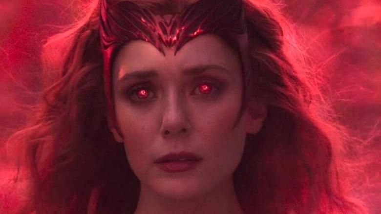 Wanda in the WandaVision finale