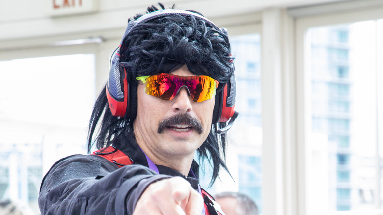 Dr Disrespect pointing