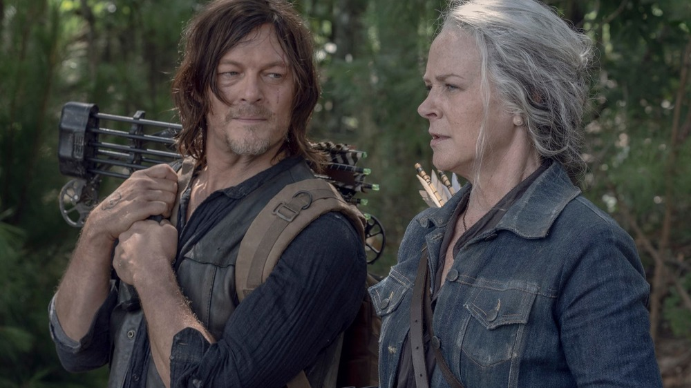 Daryl and Carol from The Walking Dead