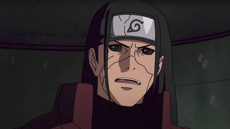 Revived Hashirama is angry