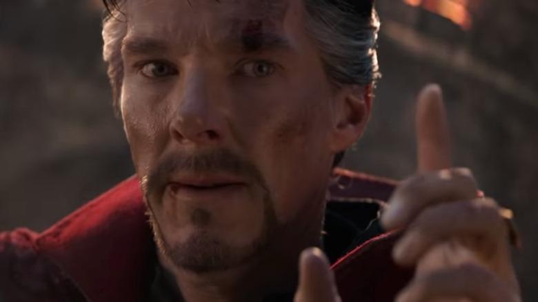 Benedict Cumberbatch in Avengers; Endgame