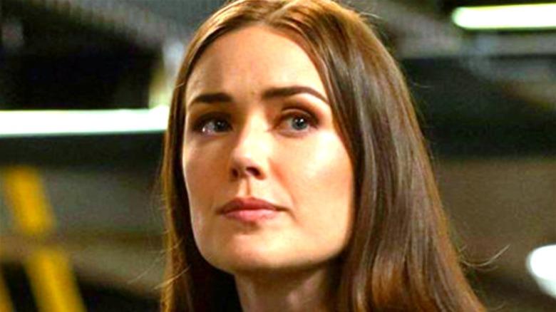 Liz Keen looking wary