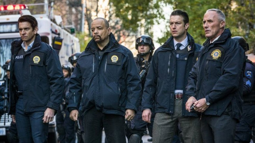 The cast of Law & Order: SVU in the 17th season