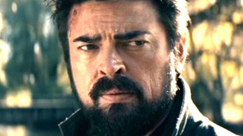Billy Butcher with beard