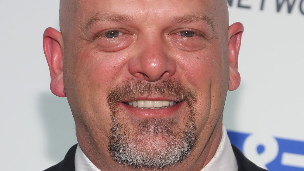 Rick Harrison posing for close-up