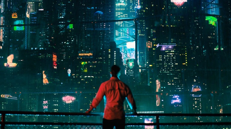 shot from Netflix's Altered Carbon