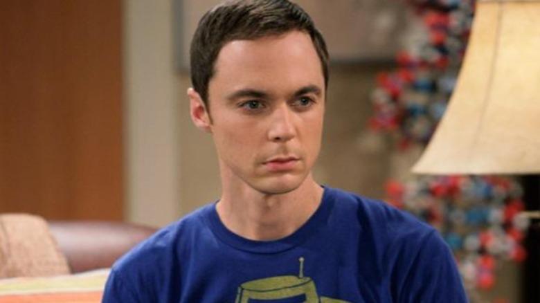 Sheldon Cooper in his apartment