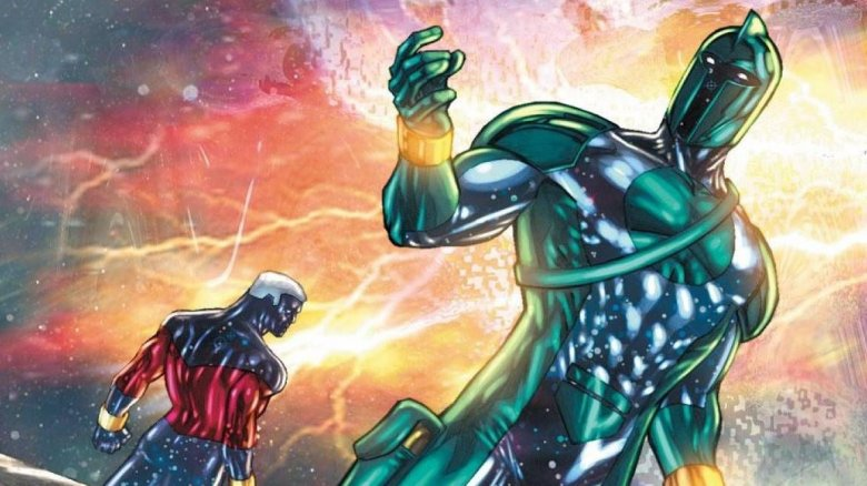 Two versions of Genis-Vell, the third Marvel Captain Marvel