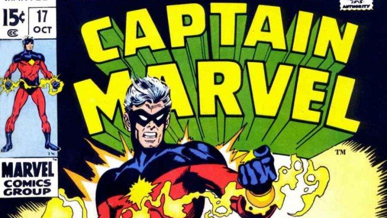 Mar-Vell, the first Marvel Captain Marvel