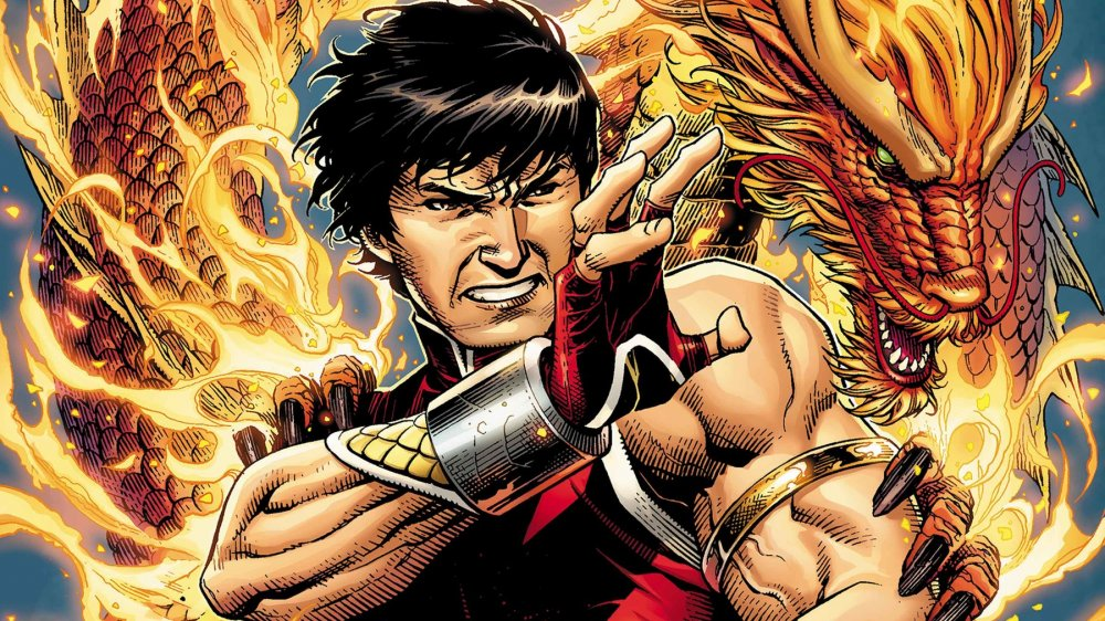 Shang-Chi limited series June 2020 comic cover