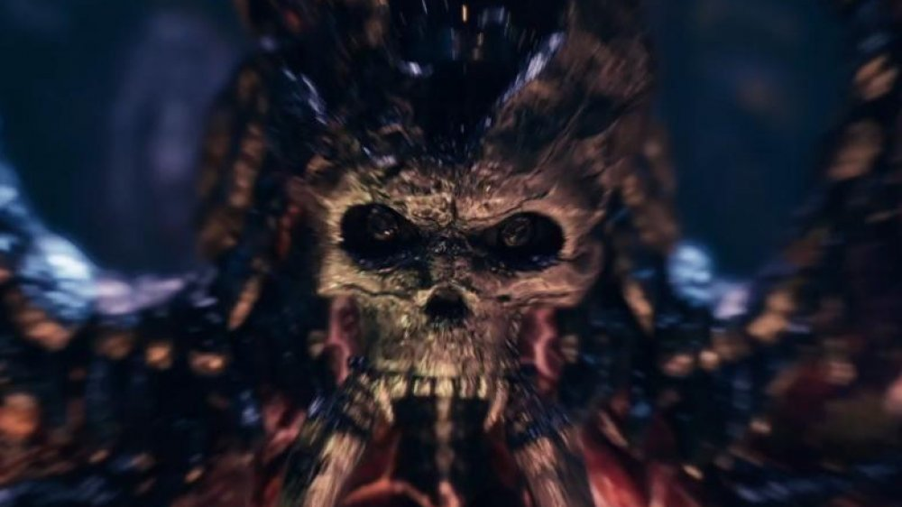 A monster from Final Fantasy 7 remake