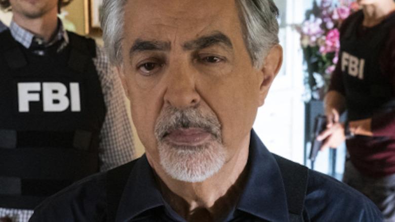 Joe Mantegna in close-up Criminal Minds