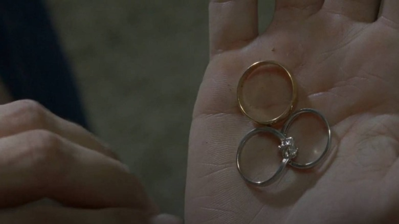 Sherry's wedding rings fall into the CRM's formation on The Walking Dead