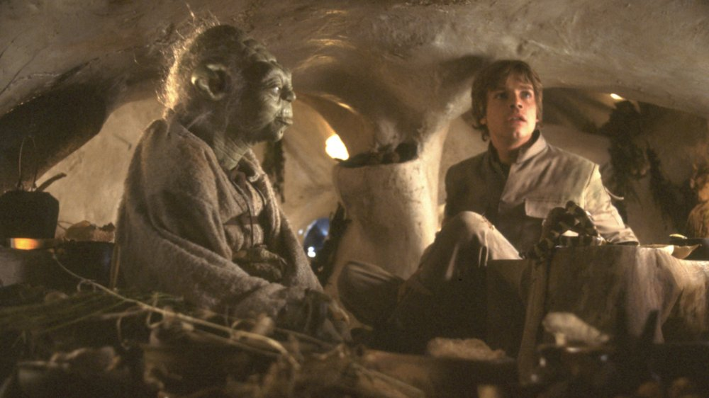 Yoda and Luke on Dagobah