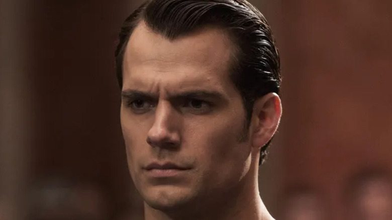 Henry Caville as Superman