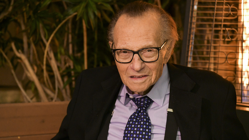 Expert interviewer Larry King