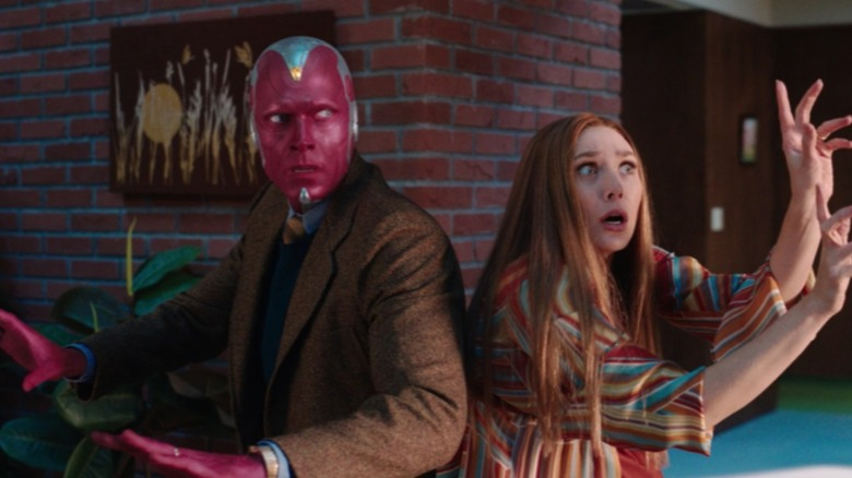 Wanda and Vision struggle to keep their house together