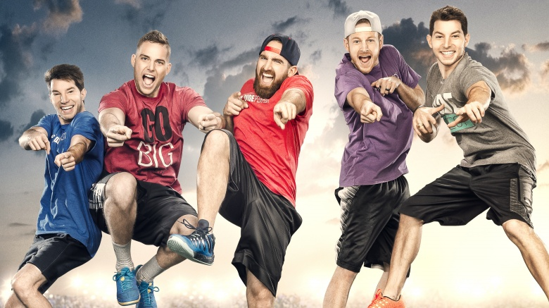 The Dude Perfect guys before all the fame