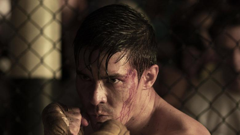 Cole in Mortal Kombat