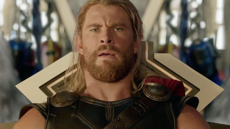 Chris Hemsworth as Thor in Thor: Ragnarok