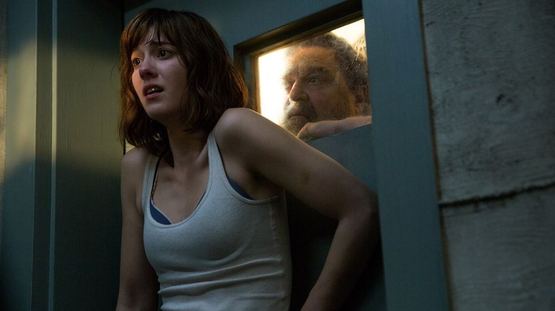 Mary Elizabeth Winstead and John Goodman in 10 Cloverfield Lane