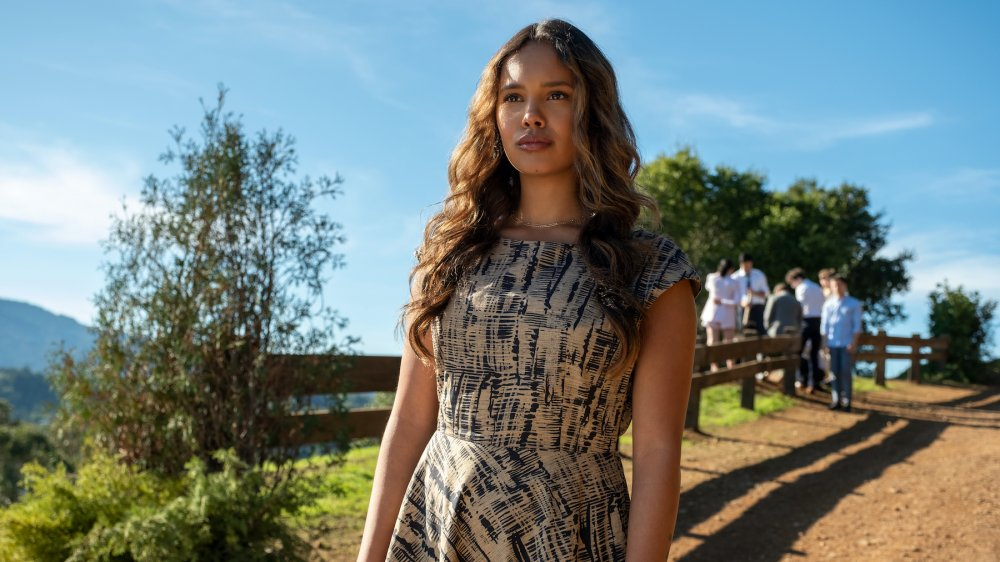 Alisha Boe as Jessica Davis in the series finale of 13 Reasons Why