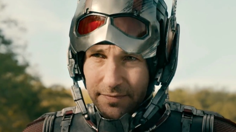 Paul Rudd Ant-Man grinning