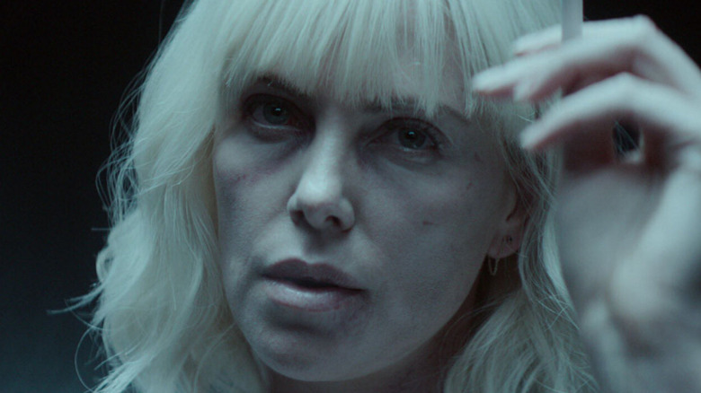 Charlize Theron as Lorraine Broughton in Atomic Blonde