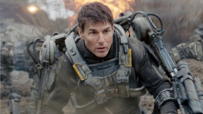 Tom Cruise in Edge of Tomorrow