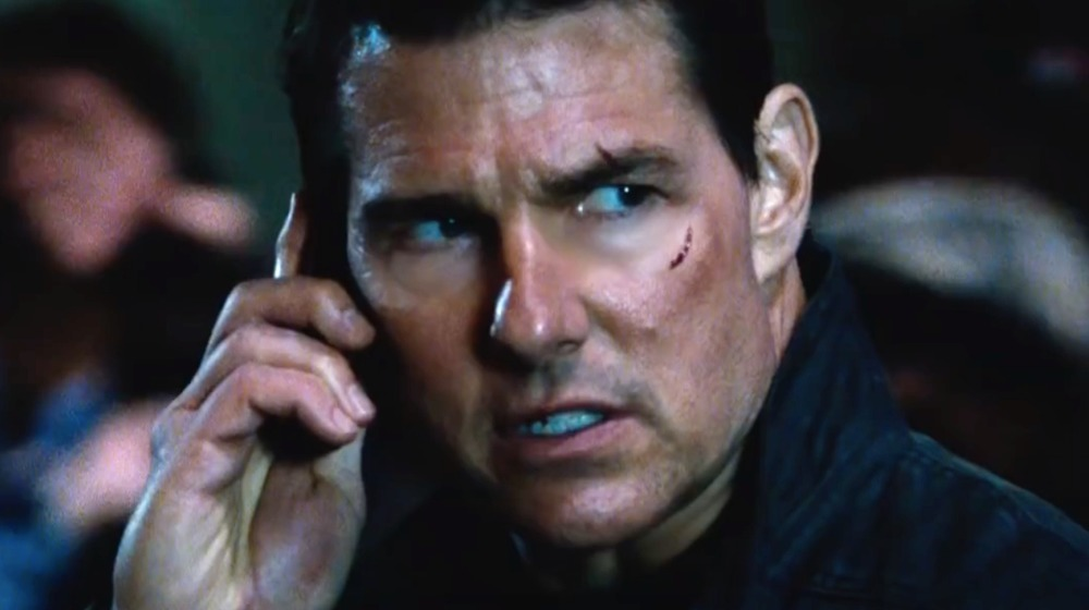 Jack Reacher on his phone