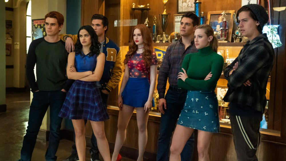 The cast of Riverdale in the season 4 finale