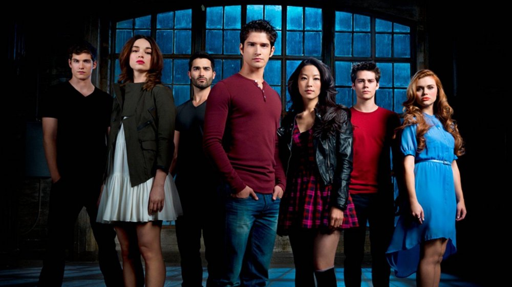 Tyler Posey and Cast Teen Wolf MTV