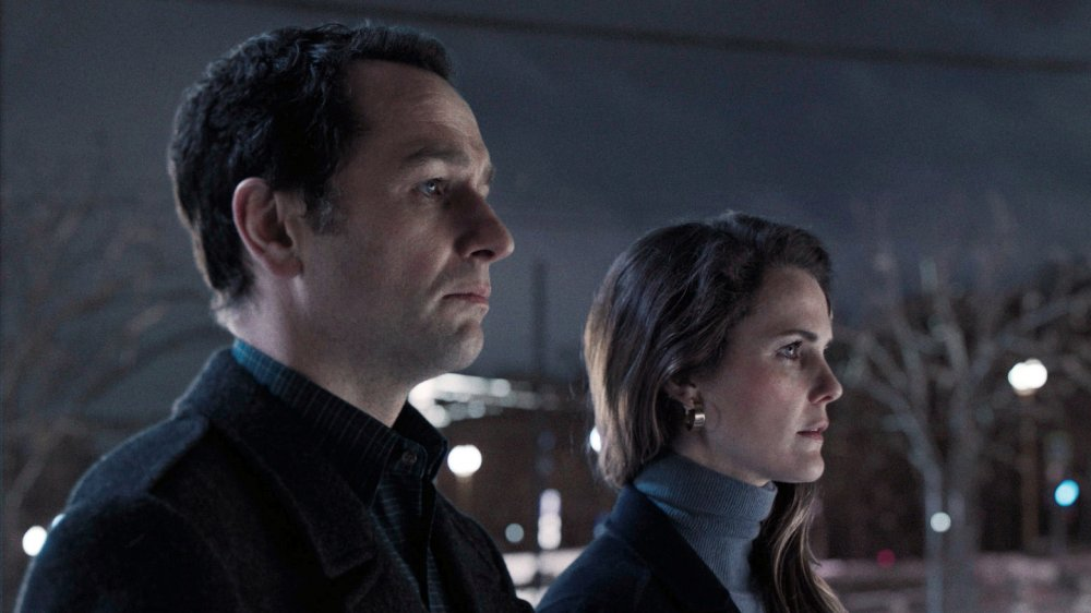 Matthew Rhys and Keri Russell in the finale of The Americans