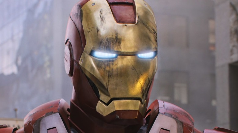 Iron Man standing