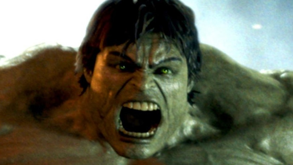 Hulk roaring