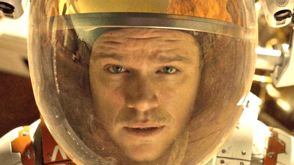 The Martian Mark Watney in space