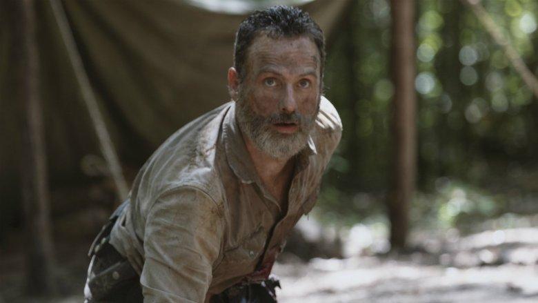 Rick nel suo ultimo episodio
