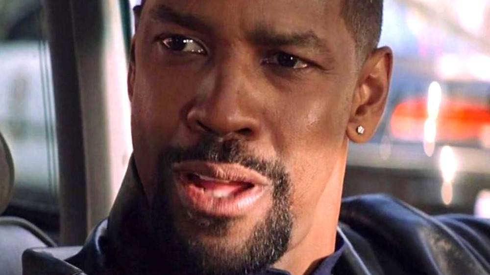 Denzel Washington Alonzo Harris surprised